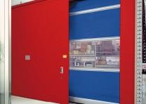 Brama p-poż w kombinacji z szybkobieżną